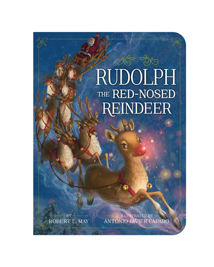 Little simon + schuster play Rudolph the Red Nosed Reindeer