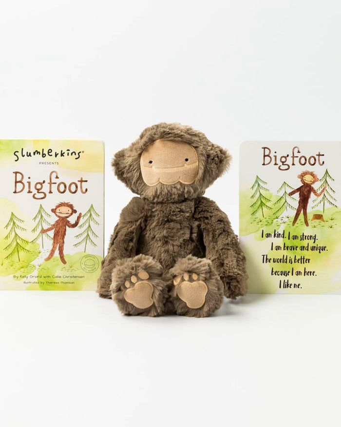 Little slumberkins play bigfoot kin