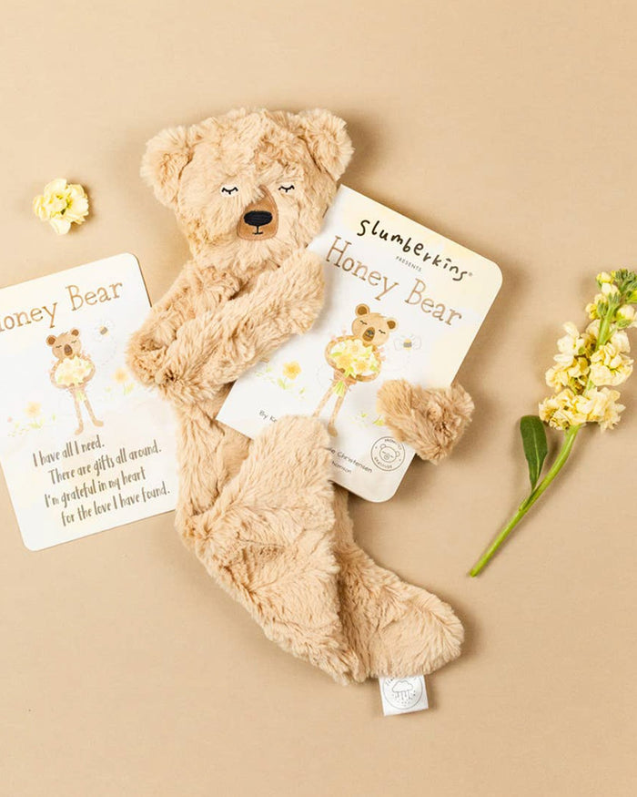Little slumberkins play honey bear snuggler