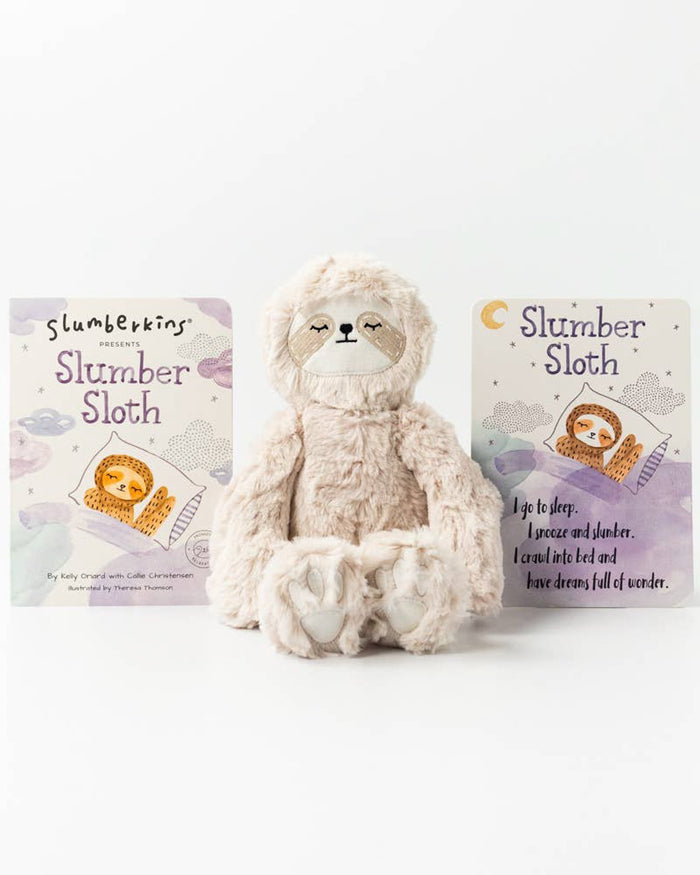 Little slumberkins play slumber sloth kin