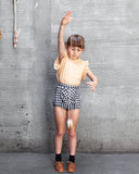 Little soor ploom girl frida knickers in gingham