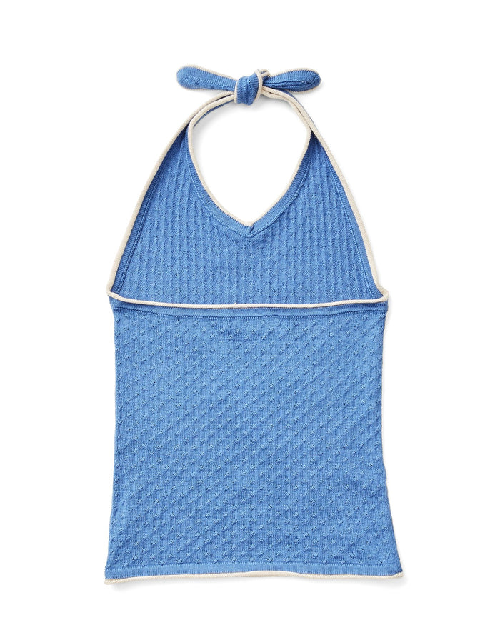 Little soor ploom girl gemma halter in blue jay