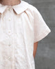 Little soor ploom girl lenu blouse in milk