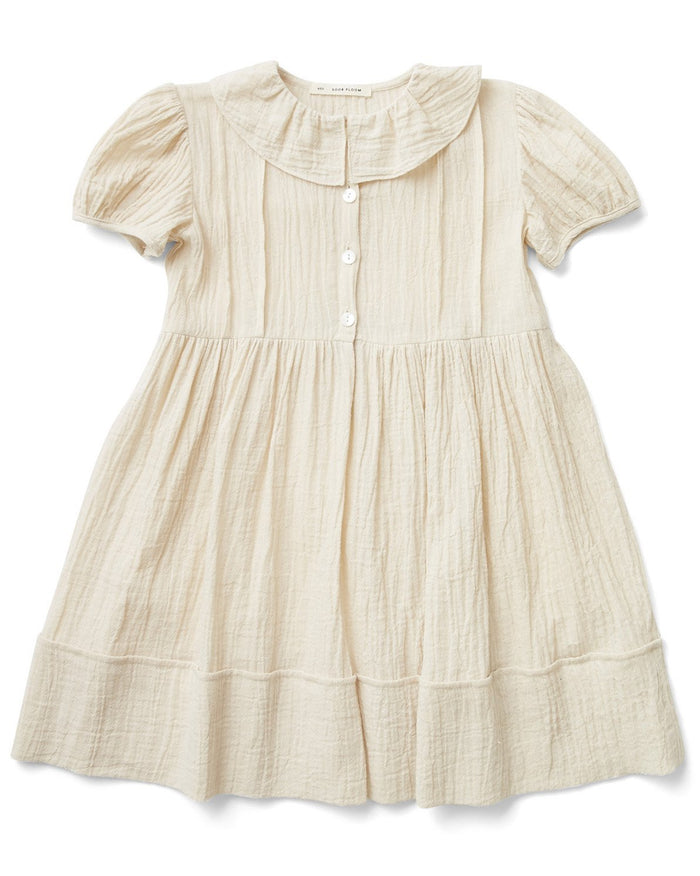 Little soor ploom girl maisy dress in milk