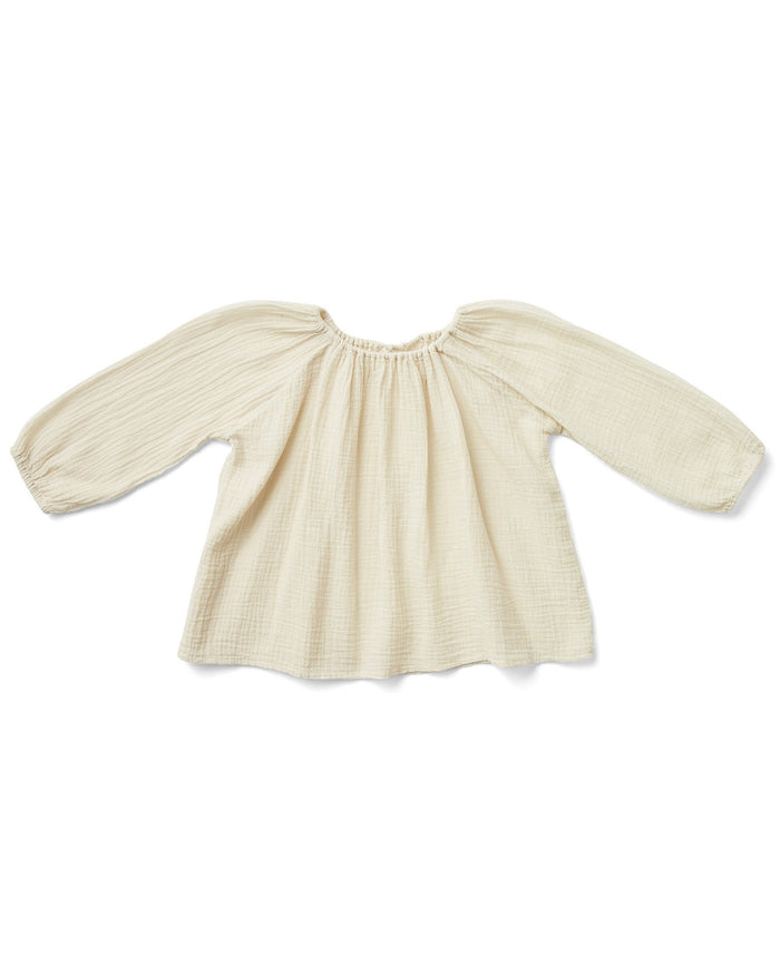 Little soor ploom girl mi casa tunic in milk