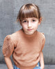 Little soor ploom girl mimi knit top in moth