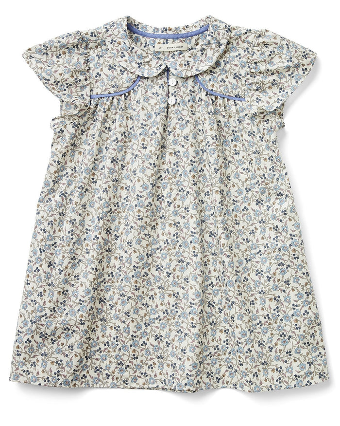Little soor ploom girl philomena dress in floral print