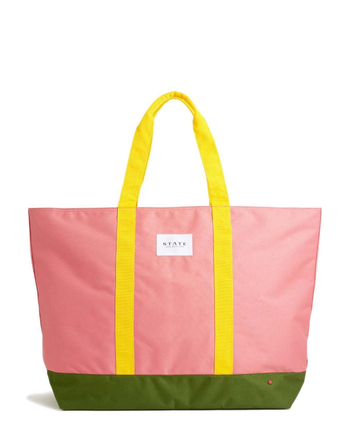 Little state bags accessories Berkeley Weekender Bag in Coral Multi