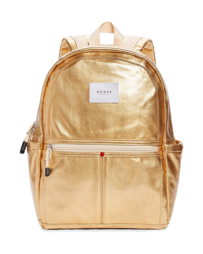 Little state bags accessories Kane Backpack in Gold