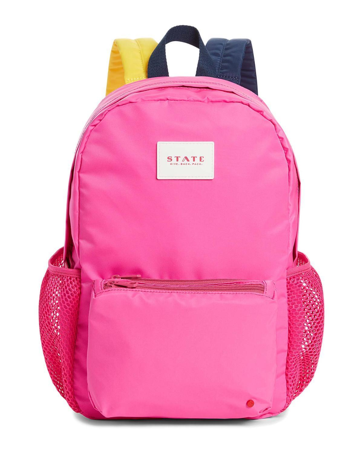 Little state bags accessories lawrence backpack in pink