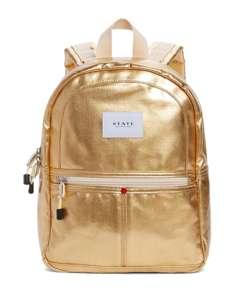 Little state bags accessories Mini Kane Backpack in Gold