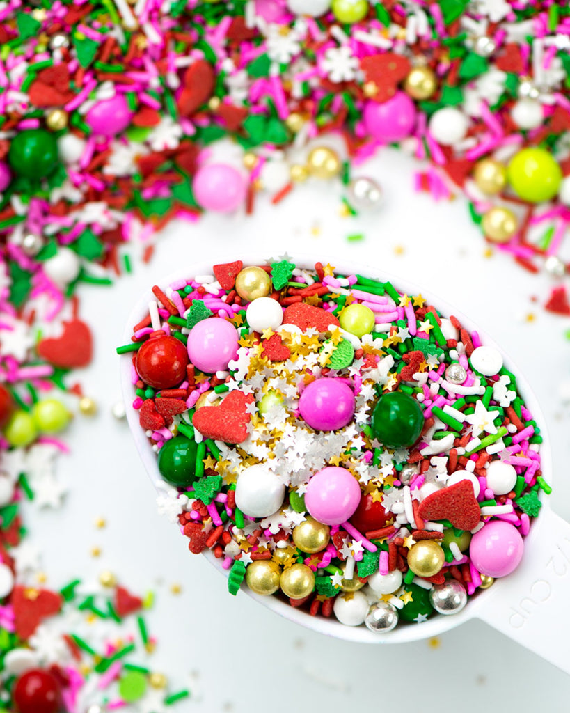 Little sweetapolita paper+party sprinkle medley in grinch's heart