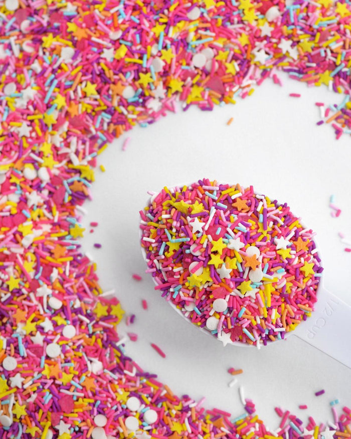 Little sweetapolita paper+party sprinkle medley in juice bar