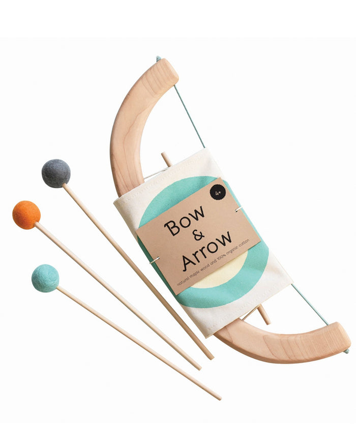 Little tangerine toys play bow + arrow set in green