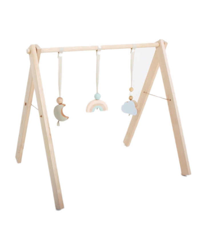 Little tangerine toys play sky reach baby gym