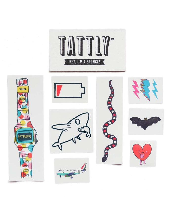 Little tattly paper+party Kids Mix 4 Tattoos