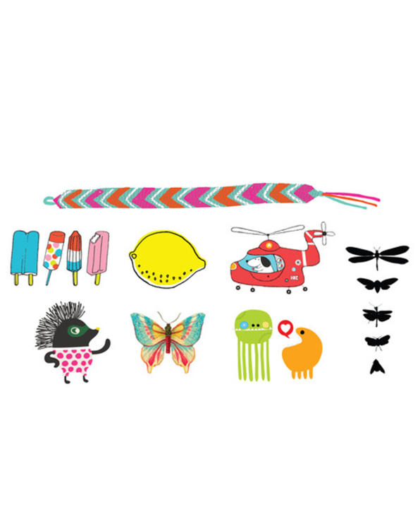 Little tattly paper+party Kids Mix Two Tatoo Set