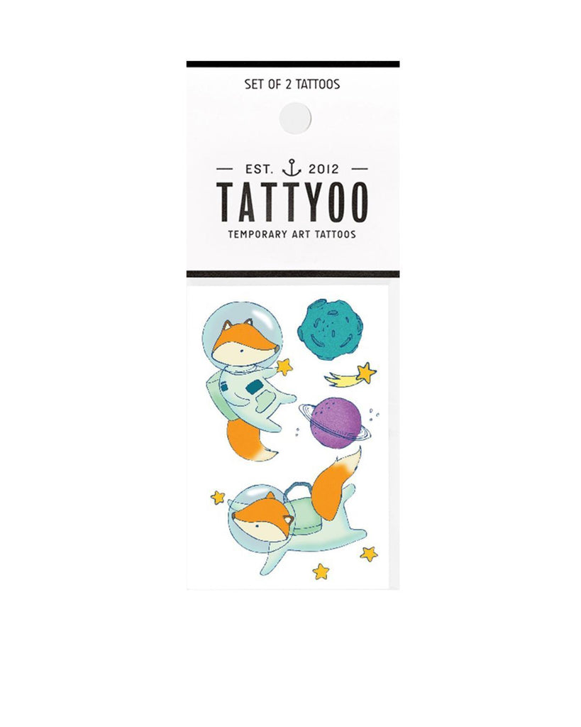 Little tattyoo paper+party space adventures tattoo