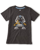 Little tea collection boy ancient egyptian pharaoh tee in pepper