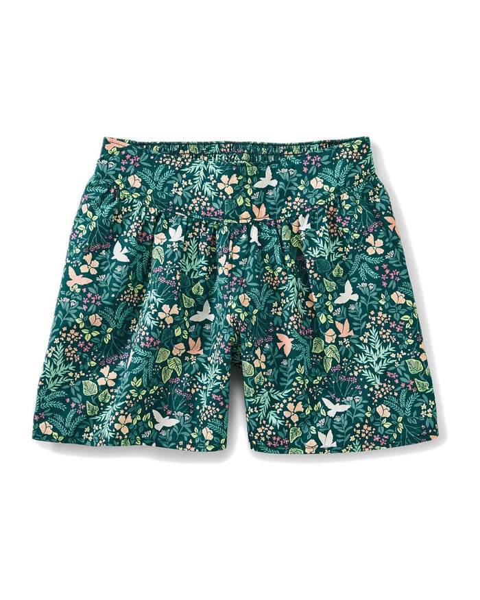 Little tea collection girl birds 'n blooms culottes