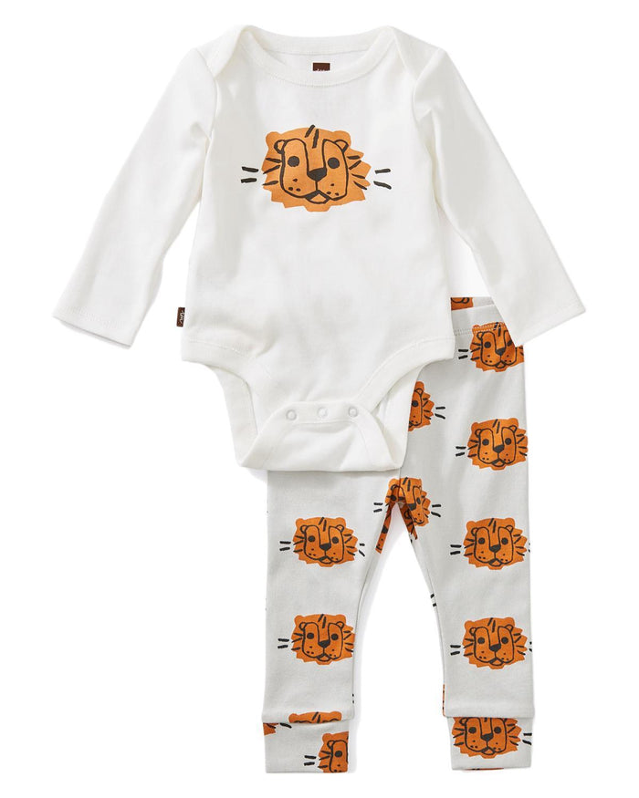 Little tea collection layette 0-3 bodysuit baby outfit