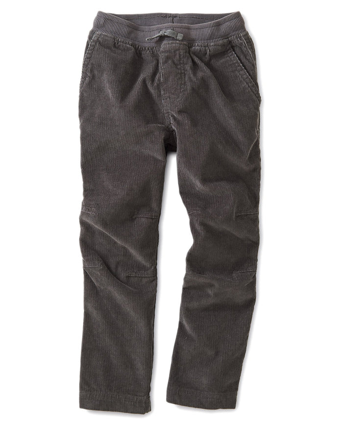 Little tea collection boy corduroy easy pants in thunder