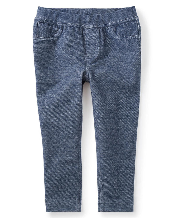 Little tea collection girl 10 Denim Like Skinny Minny Pant