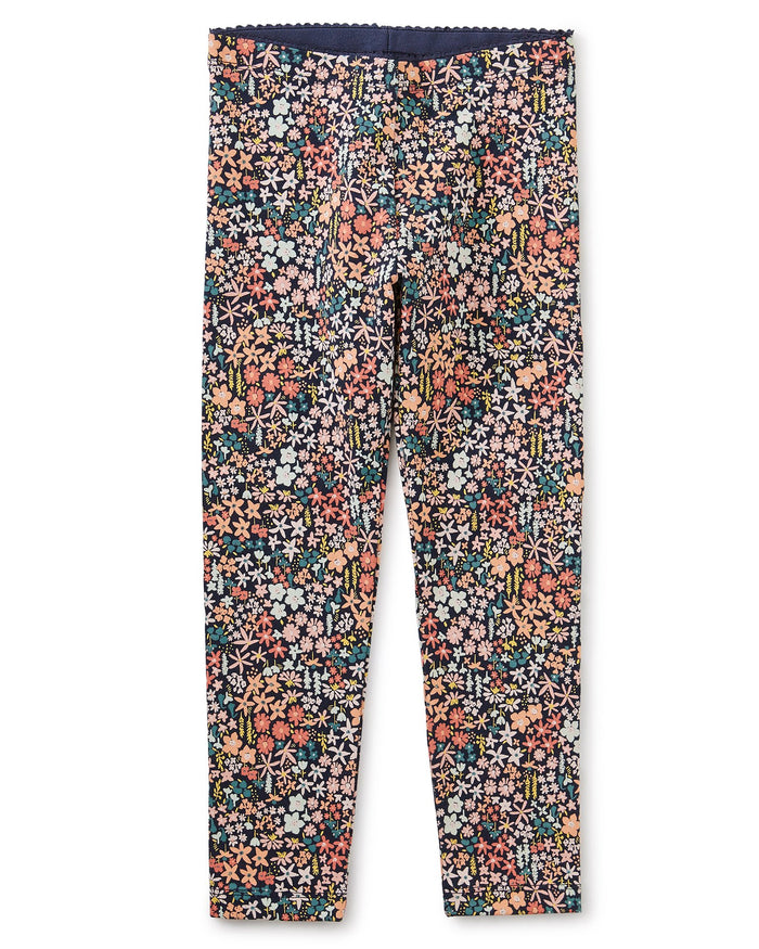 Little tea collection ditsy floral leggings in mountainside wildflowers