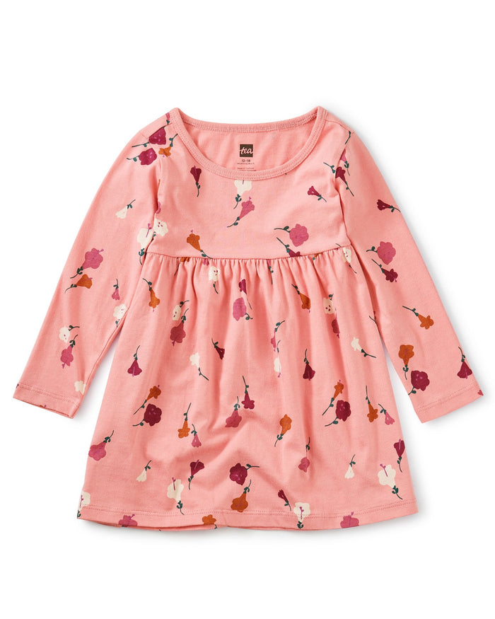 Little tea collection baby girl empire baby dress in chiquita flora inca