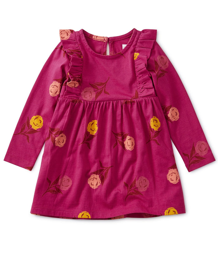 Little tea collection baby girl festival ruffle baby dress