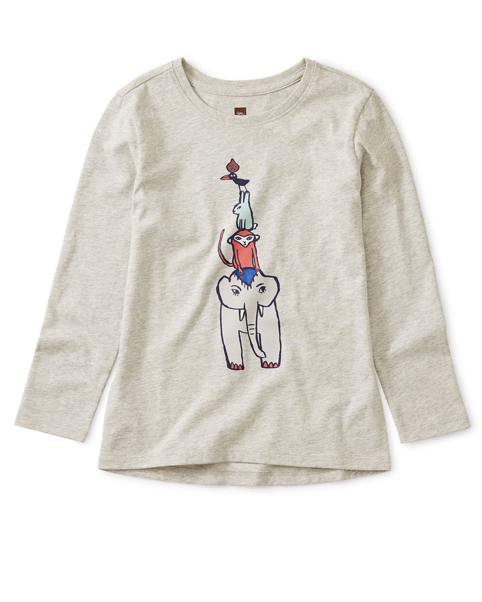 Little tea collection girl four friends storytelling tee
