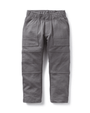 Little tea collection boy 2 French Terry Playwear Pant in Thunder