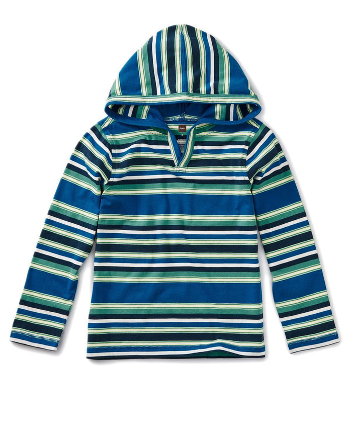 Little tea collection boy 10 happy hoodie