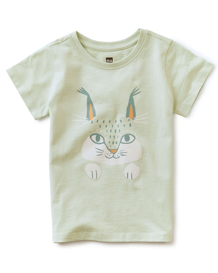 Little tea collection girl here lynxy lynxy tee in seafoam