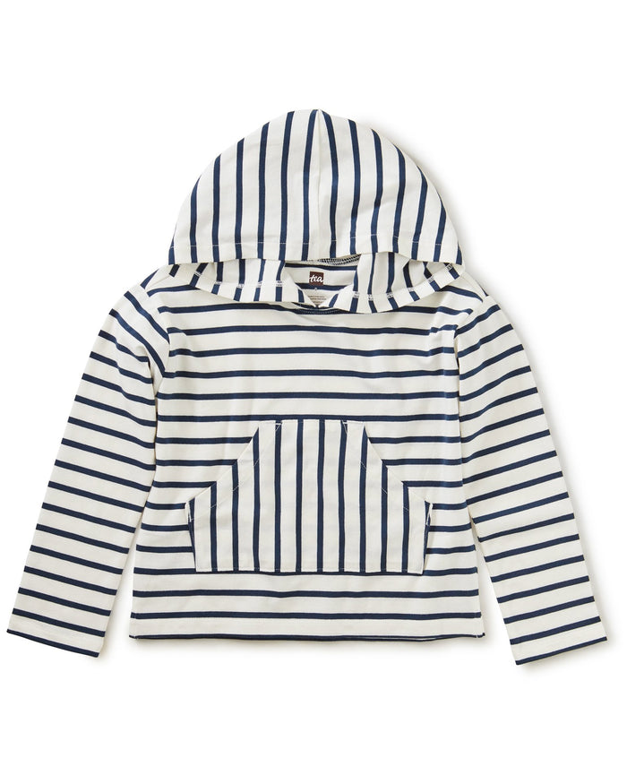 Little tea collection girl Hooded Top