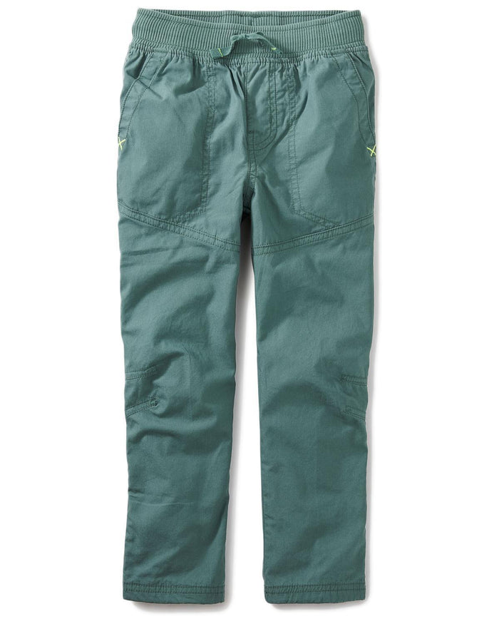 Little tea collection boy 7 jersey lined pants in foliage
