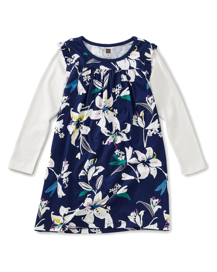 Little tea collection girl 2 layered sleeve mighty mini in tropical lilies