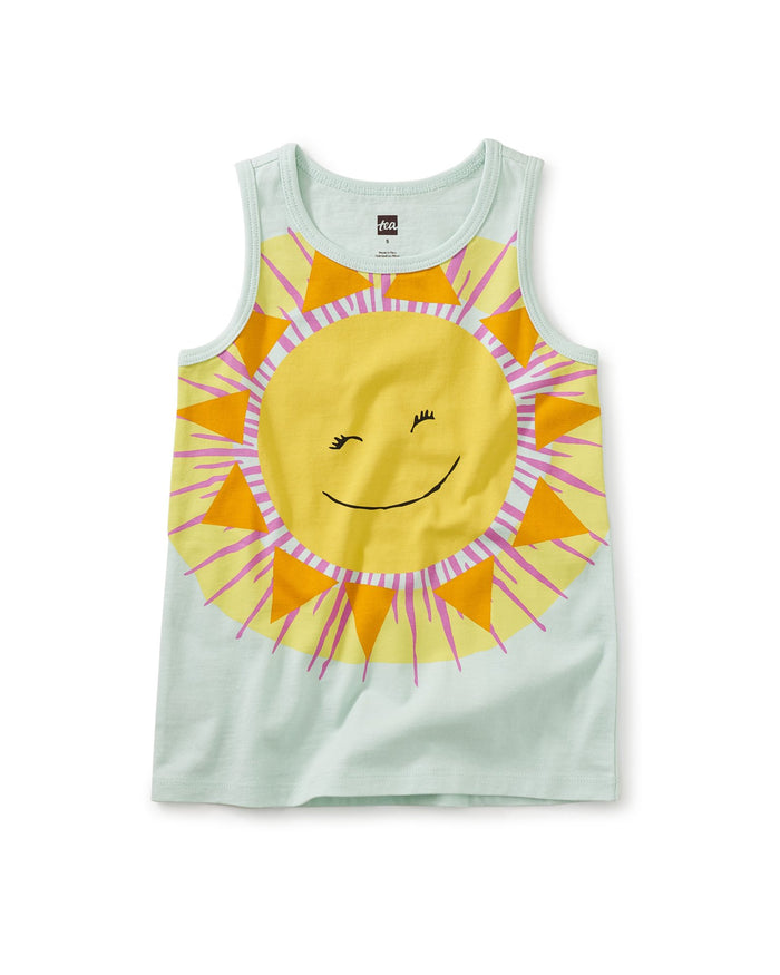 Little tea collection girl mostly sunny tank