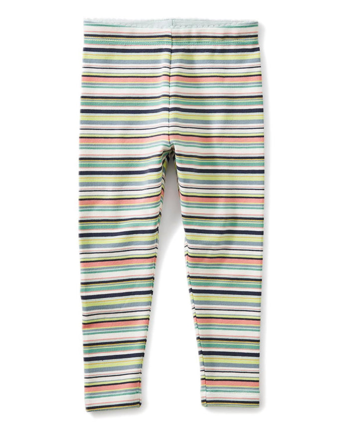 Little tea collection little girl 12-18 multistripe baby leggings