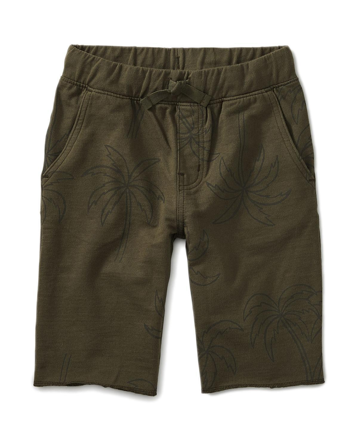 Little tea collection boy 10 pattern cruiser shorts