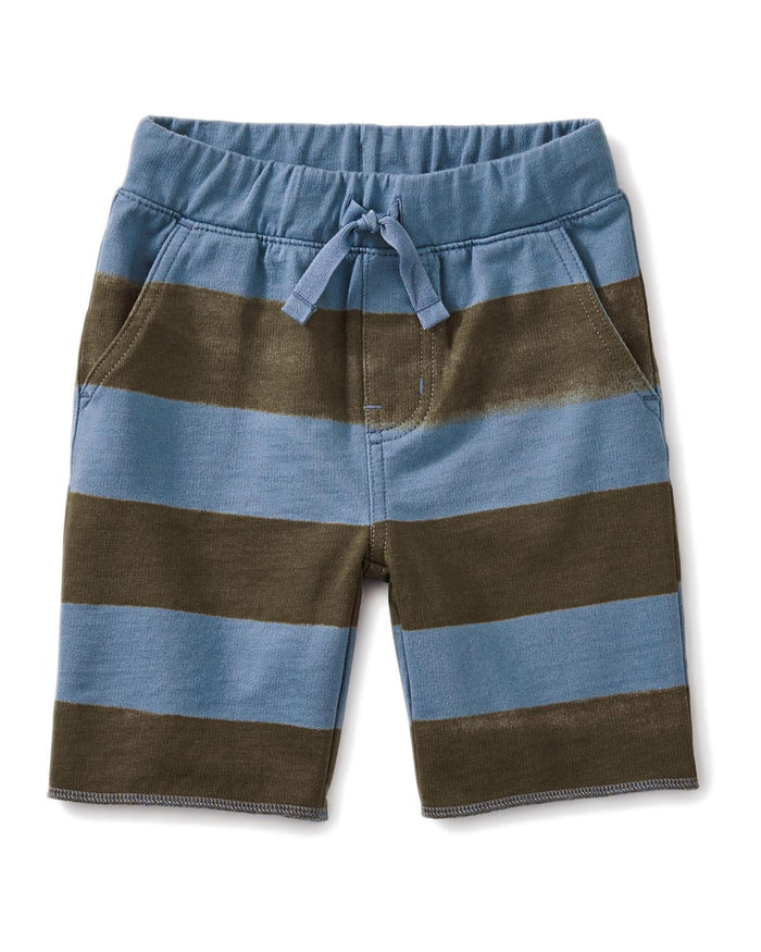 Little tea collection little boy 6-9 patterned cruiser baby shorts