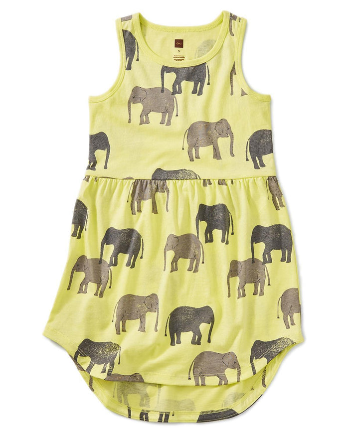 Little tea collection girl 6 printed skirted tank dress