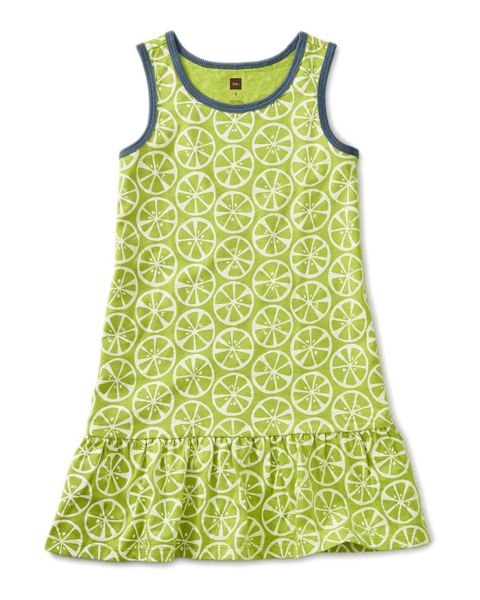 Little tea collection girl 10 printed tank dress