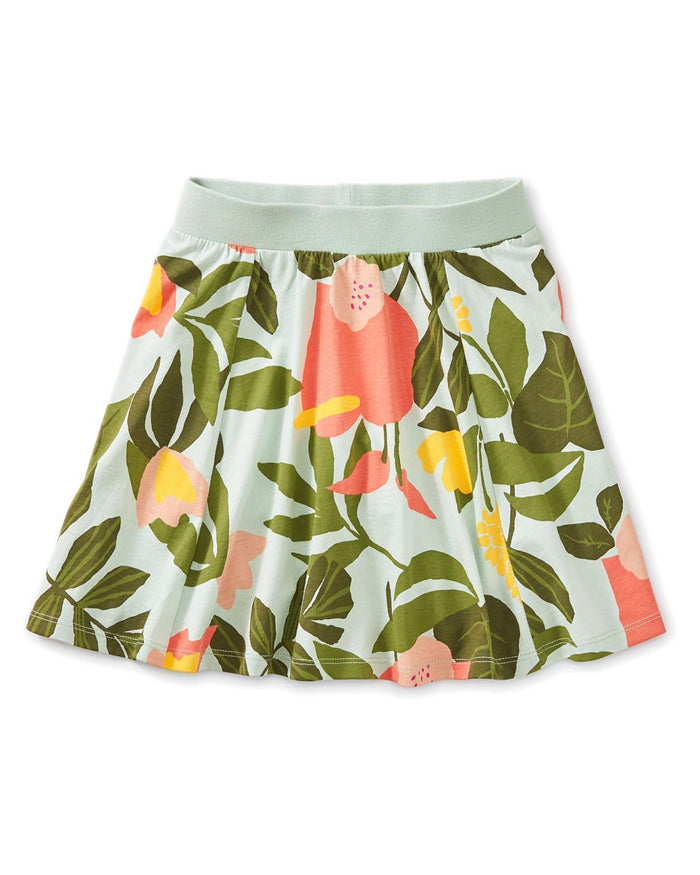 Little tea collection girl 10 printed twirl skort