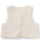 Little tea collection baby girl sherpa baby vest