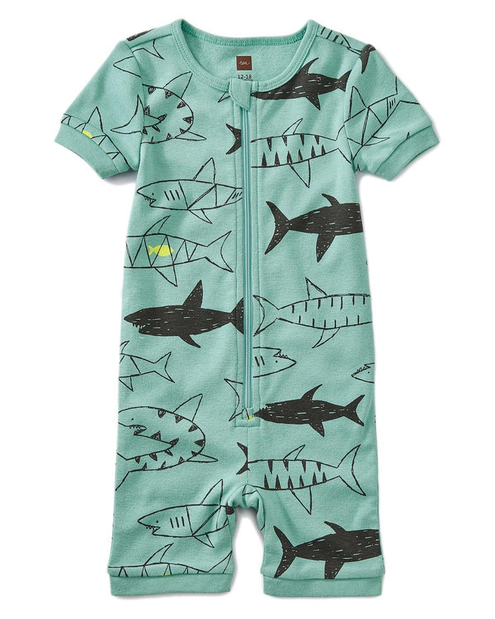 Little tea collection baby boy 12-18 short sleeve baby pajamas