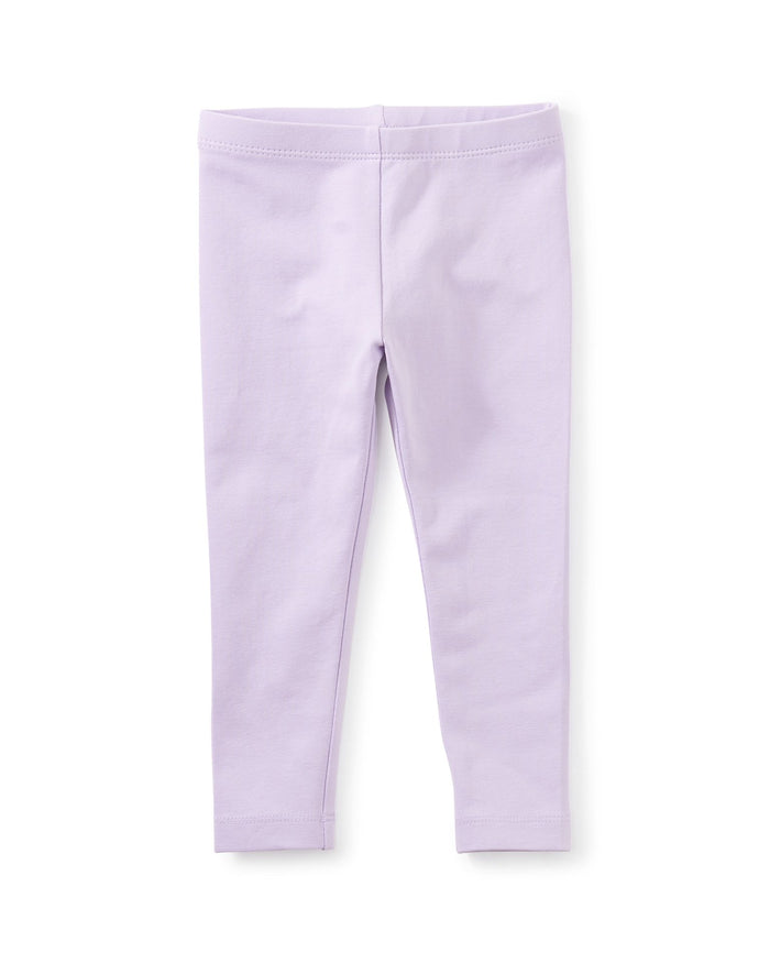 Little tea collection baby girl solid baby leggings in orion