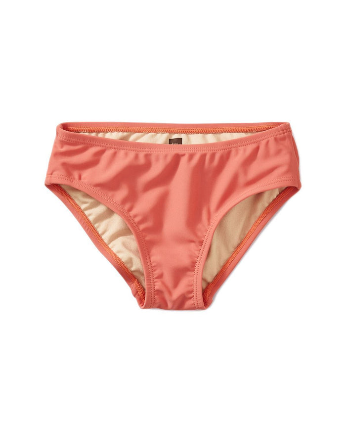 Little tea collection girl 10 solid bikini bottom