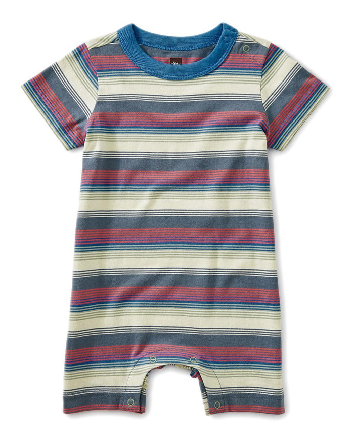 Little tea collection little boy 0-3 striped romper