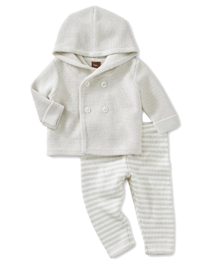 Little tea collection layette 0-3 sweater outfit
